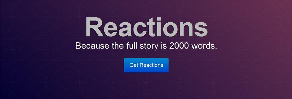 Reactions – żart z potencjałem