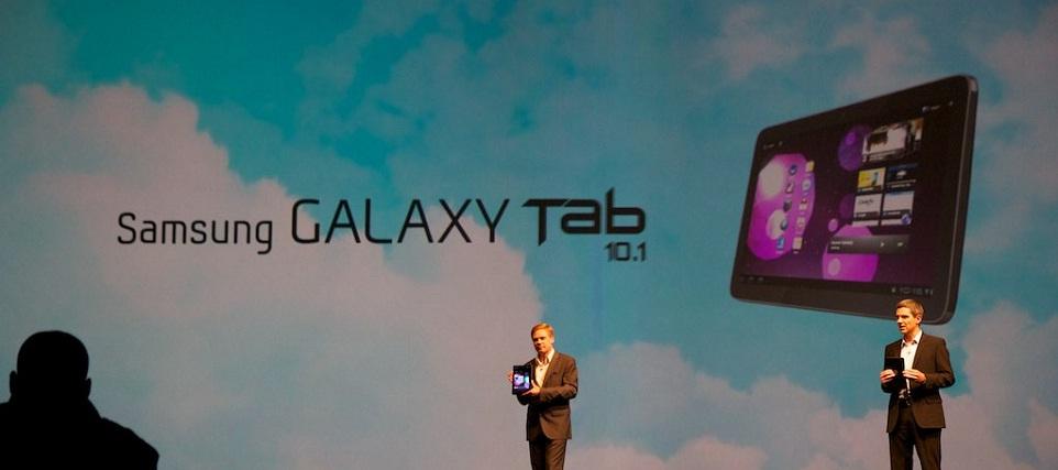 Premiera tabletu Samsunga kością niezgody między mocarstwami?