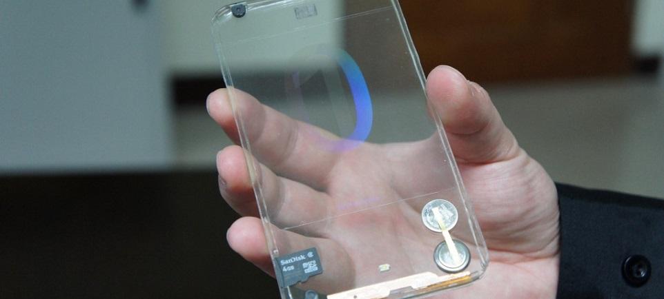 Smartfon z przeźroczystym ekranem, czyli witamy w przyszłości